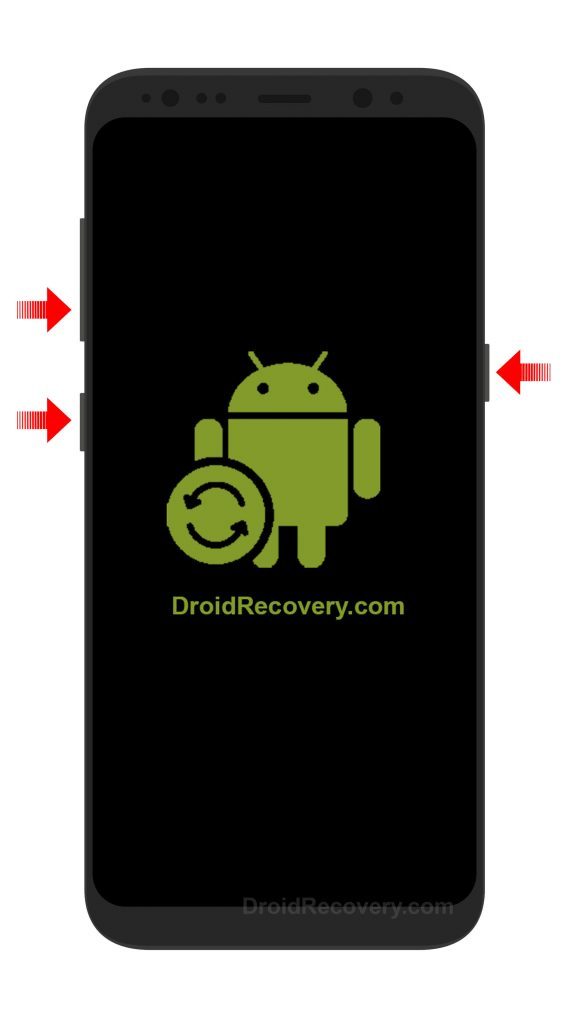 Samsung Galaxy S8 G950F Recovery Mode and Fastboot Mode