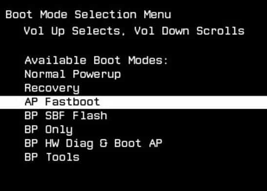 Motorola RAZR XT910 Recovery Mode and Fastboot Mode
