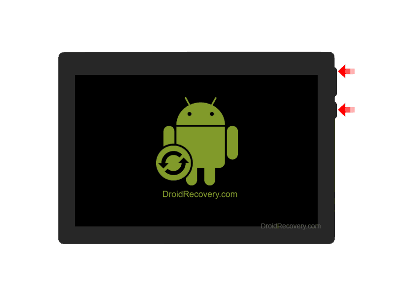Airis Tablet OnePad 1100x4 3G Recovery Mode and Fastboot Mode