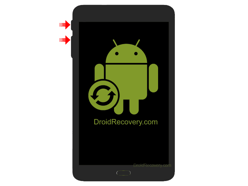 Twinmos TwinTAB- T7283GD2 Recovery Mode and Fastboot Mode