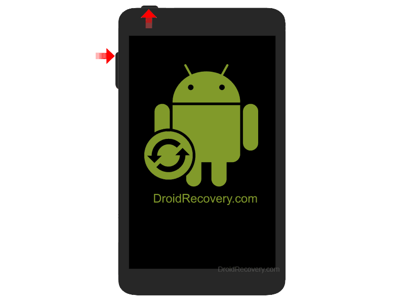"Kaos Speed Tablet 10"" Recovery Mode and Fastboot Mode"