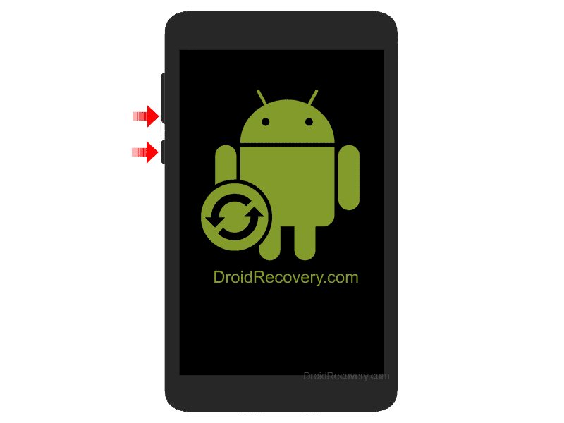 Trekstor SurfTab ventos 7.0 HD Recovery Mode and Fastboot Mode