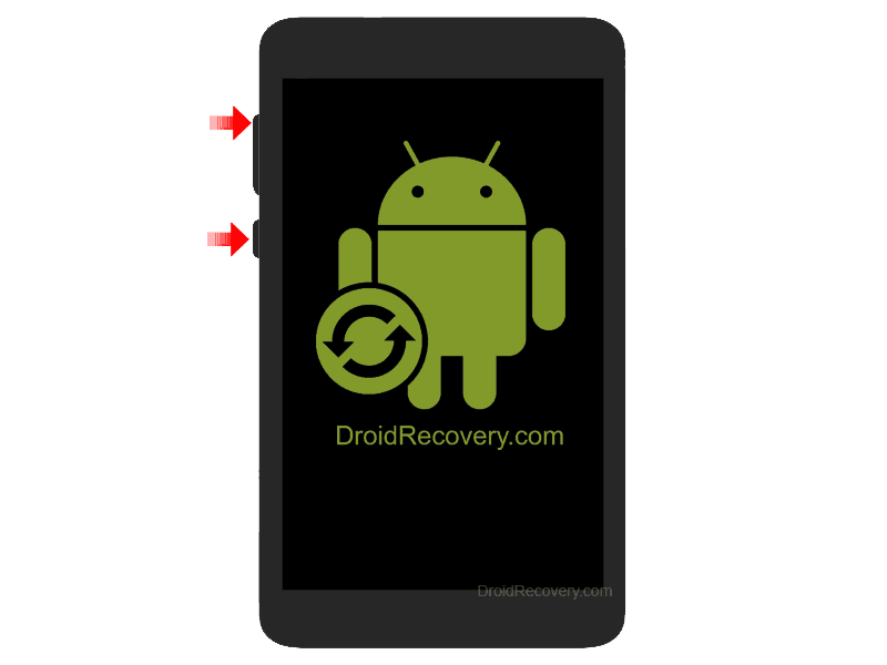 IRU M710GG Recovery Mode and Fastboot Mode