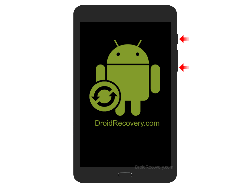 Huawei MediaPad 7 Vogue Recovery Mode and Fastboot Mode