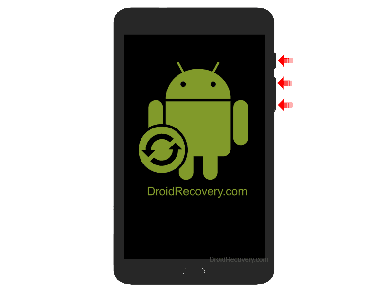 ZTE V81 Recovery Mode and Fastboot Mode