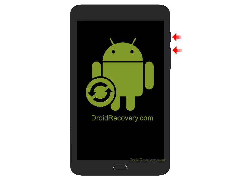 "Tolino Tab 8.9"" Recovery Mode and Fastboot Mode"