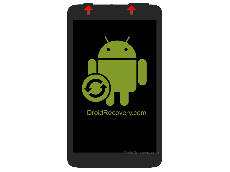 EXEQ P-1011 Recovery Mode and Fastboot Mode
