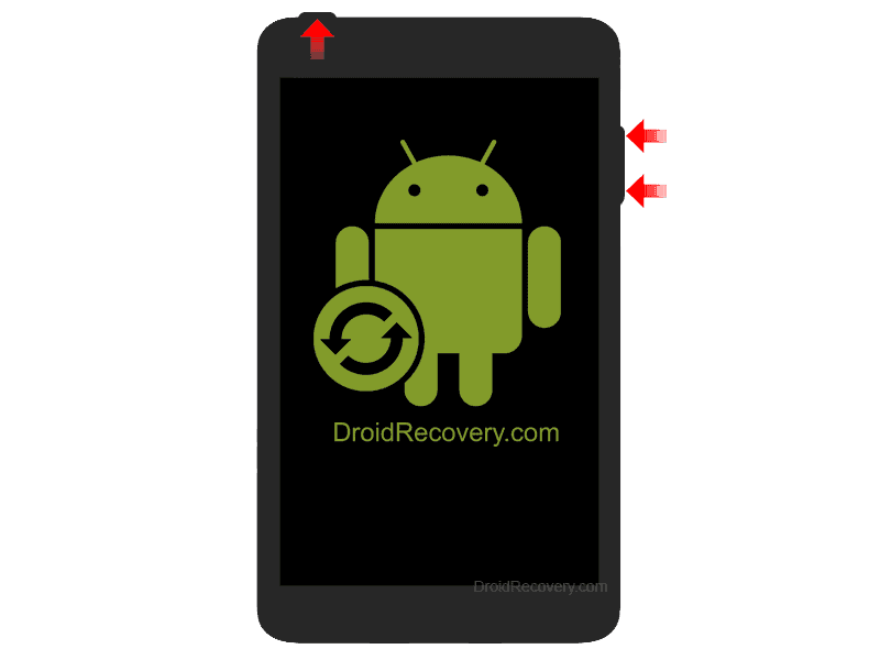 QMobile X50 Q Recovery Mode and Fastboot Mode