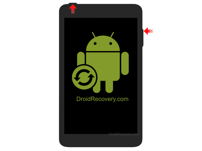 I-Onik TP7.85-1200QC Recovery Mode and Fastboot Mode