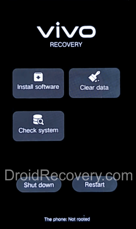 Vivo iQOO 7 Recovery Mode and Fastboot Mode