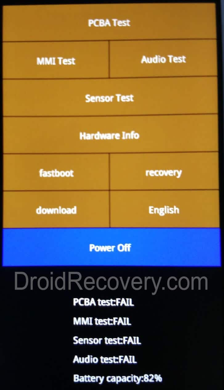 Xiaomi 5X Recovery Mode and Fastboot Mode