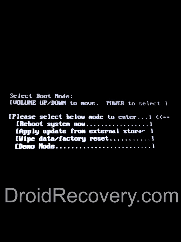 Acer Iconia B1-721 Recovery Mode and Fastboot Mode