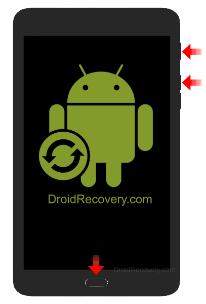 Samsung Galaxy Tab Active 2 4G LTE Recovery Mode and Fastboot Mode