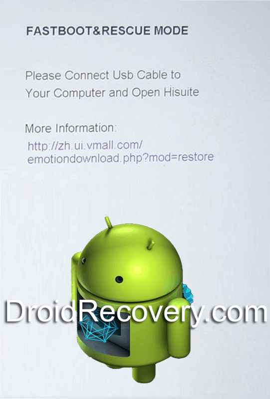 Huawei Enjoy 7 Plus Recovery Mode and Fastboot Mode