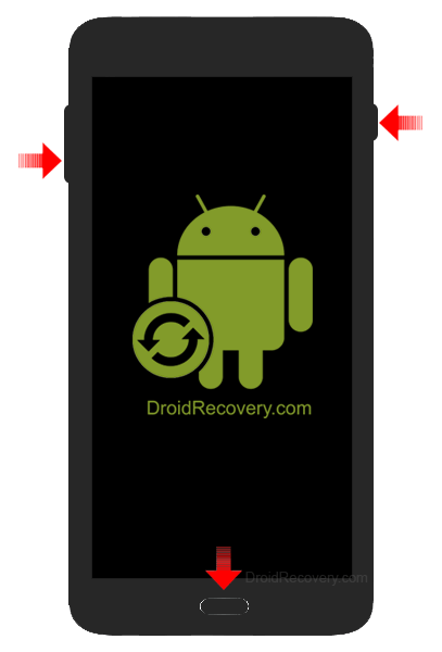 Samsung Galaxy J1 Mini Prime J106F Recovery Mode and Fastboot Mode