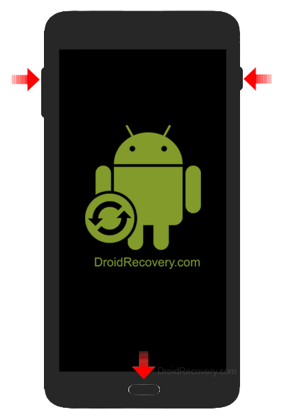 Samsung Galaxy J3 Prime J327T Recovery Mode and Fastboot Mode