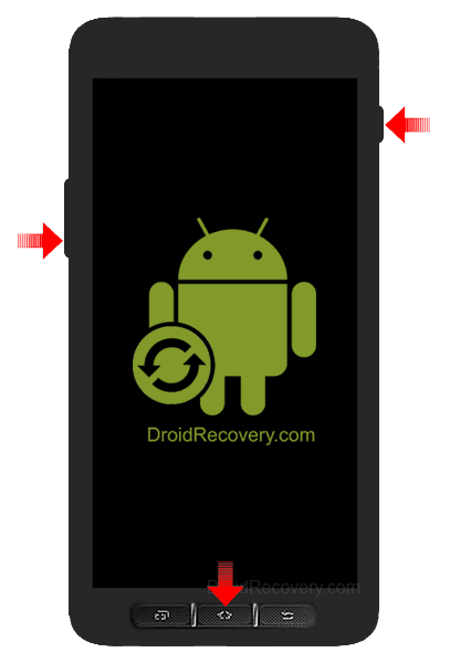 Samsung Galaxy Pop i559 Recovery Mode and Fastboot Mode