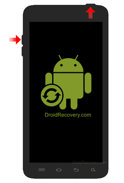 ZTE z740 Radiant Recovery Mode and Fastboot Mode