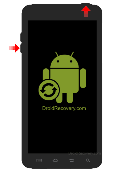 Highscreen Alpha R Recovery Mode and Fastboot Mode