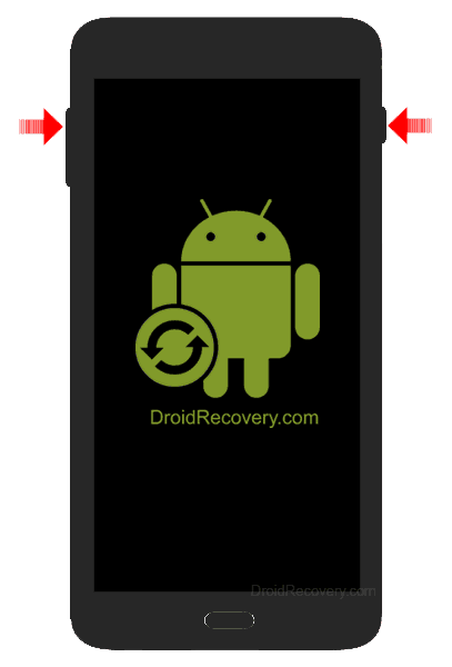 Texet X-driver Recovery Mode and Fastboot Mode