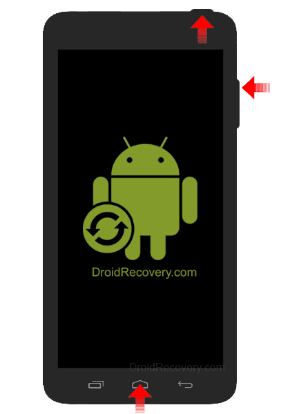 Micromax A25 Recovery Mode and Fastboot Mode