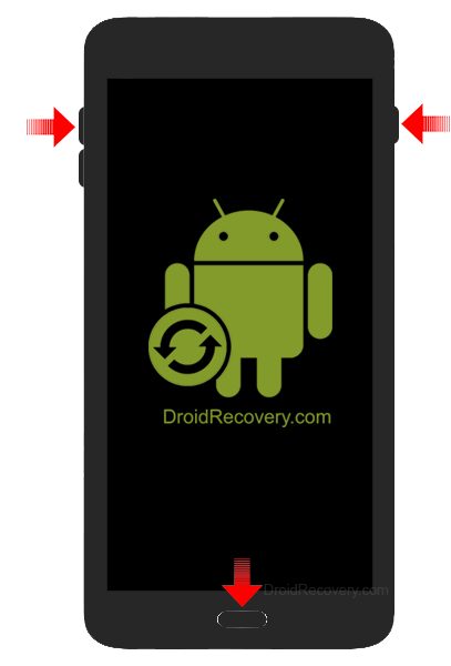 Samsung Galaxy S6 Edge+ (T-Mobile) G928T Recovery Mode and Fastboot Mode