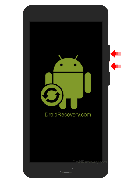 YU YU4711 Recovery Mode and Fastboot Mode