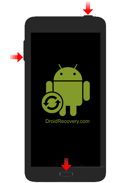 Samsung Galaxy Note Edge SC-01G Recovery Mode and Fastboot Mode