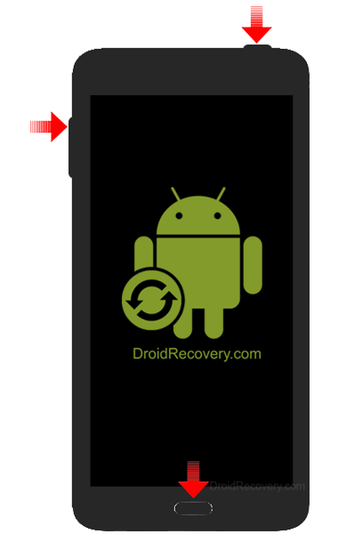 Samsung Galaxy Note Edge N915J Recovery Mode and Fastboot Mode