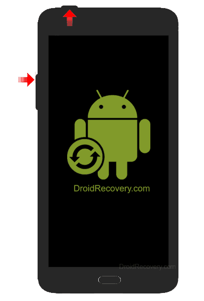 Huawei M886 Mercury Recovery Mode and Fastboot Mode