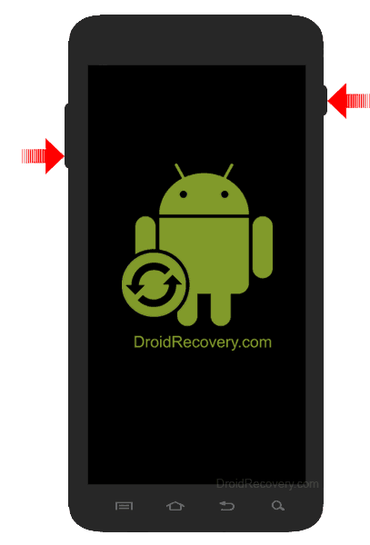 LG K3 4G LS450 Recovery Mode and Fastboot Mode