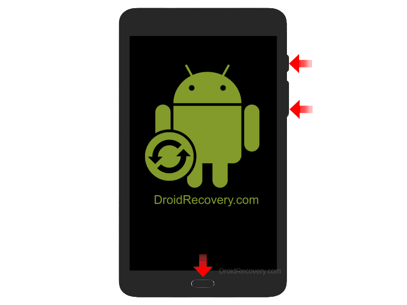 Samsung Galaxy Tab S3 LTE T825 Recovery Mode and Fastboot Mode