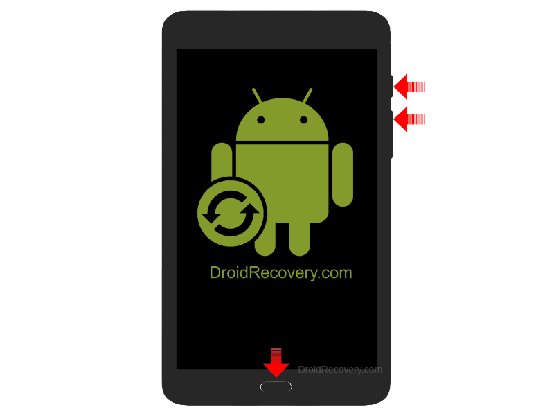 Samsung Galaxy A 10.1 WiFi 2016 P580N Recovery Mode and Fastboot Mode