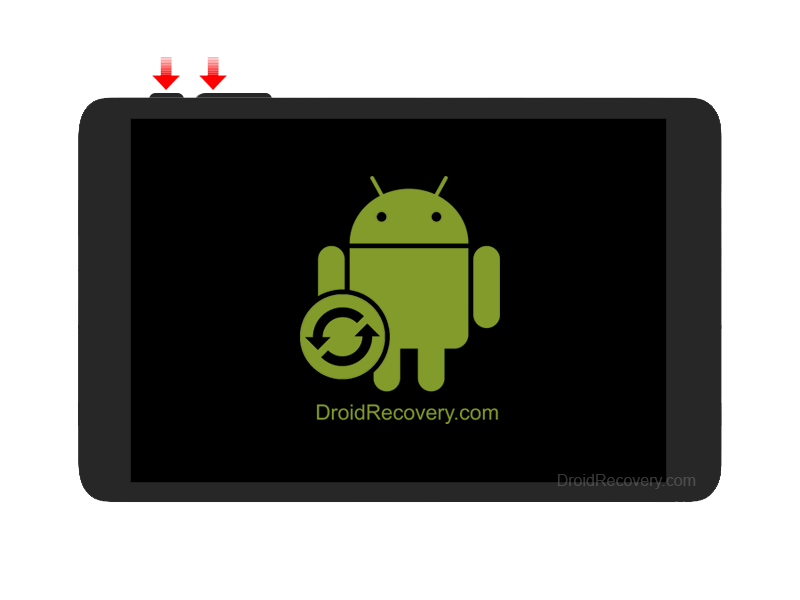 Adax Tab 7DR3 Recovery Mode and Fastboot Mode