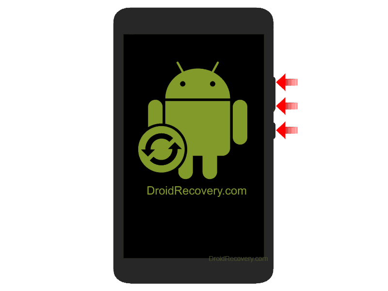 Lenovo Tab S8-50L Recovery Mode and Fastboot Mode