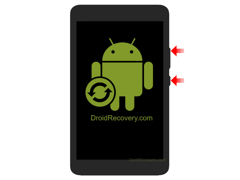 Ginzzu GT-W170 Recovery Mode and Fastboot Mode
