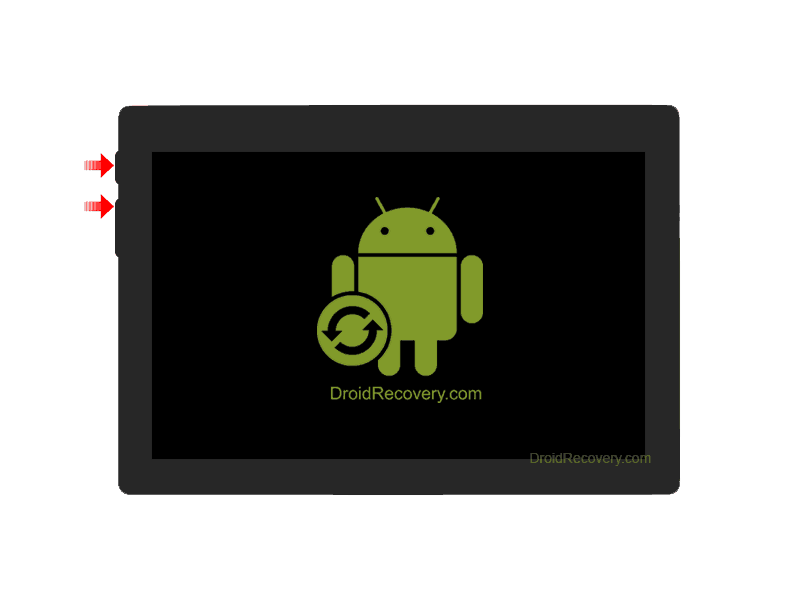 Adax Tab 7JC1 7 Recovery Mode and Fastboot Mode