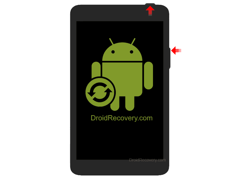 Intenso 8 Tab 824 Recovery Mode and Fastboot Mode